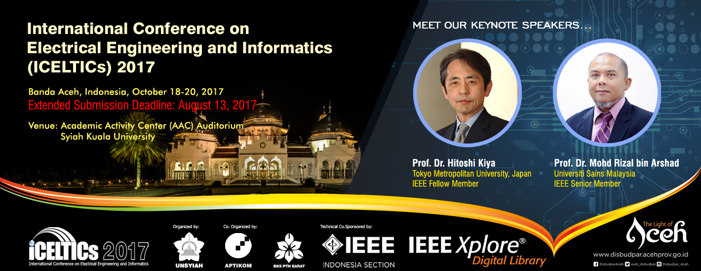 International Conference on Electrical Engineering and Informatics 2017
